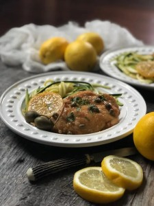 The most lemony chicken piccata