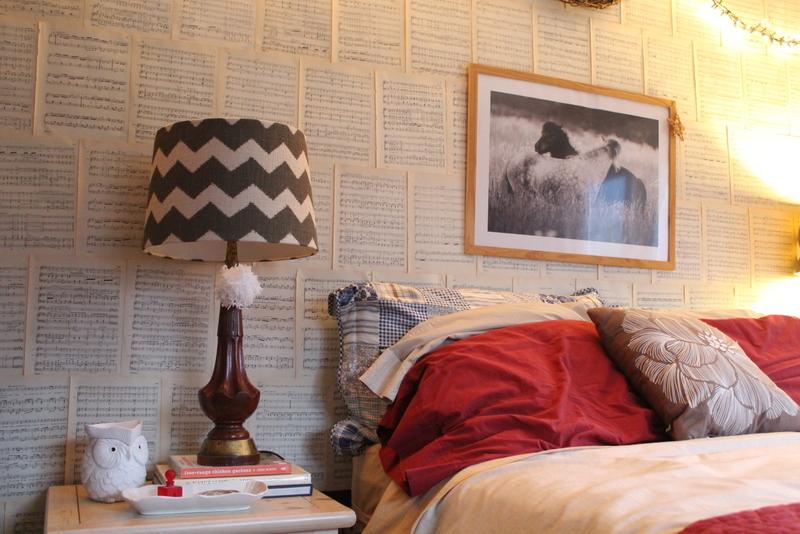 Thrifty Master Bedroom Mini Update
