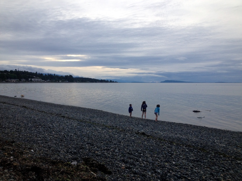 Beautiful Qualicum Beach on Vancouver Island.