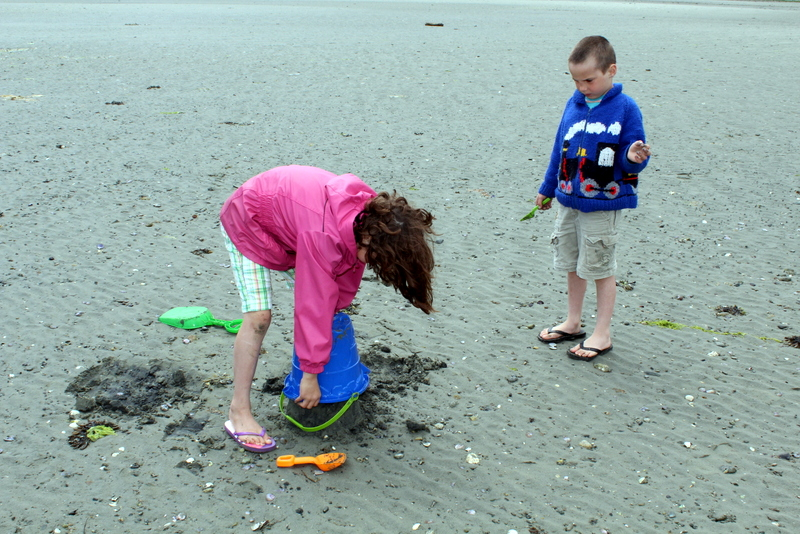 What kid doesn't love to build sandcastles on the beach?