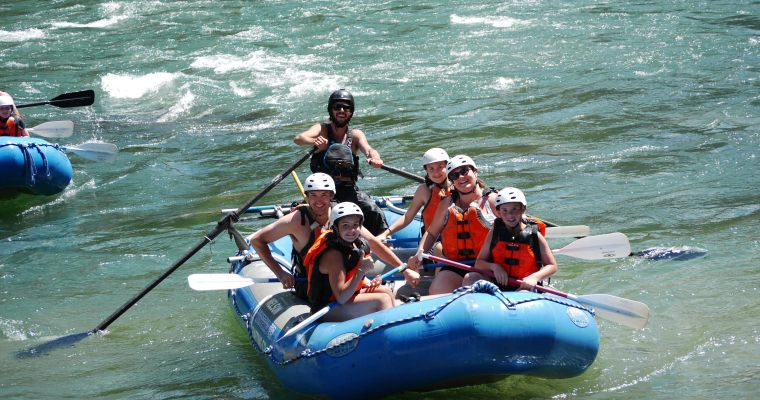Family Adventure with the Nelson Whitewater Rafting Co.