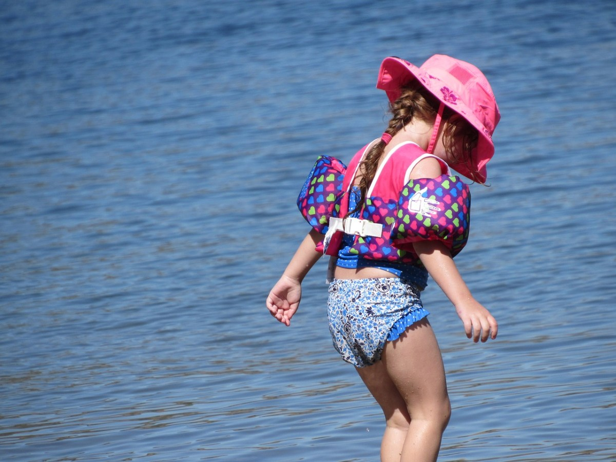 Kids especially love swimming and water play when camping, plus it is nice to cool down on a hot sunny summer day.