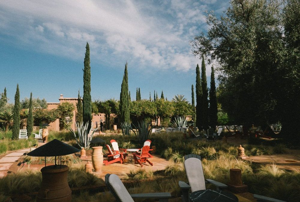 The Beldi country club in Marrakech