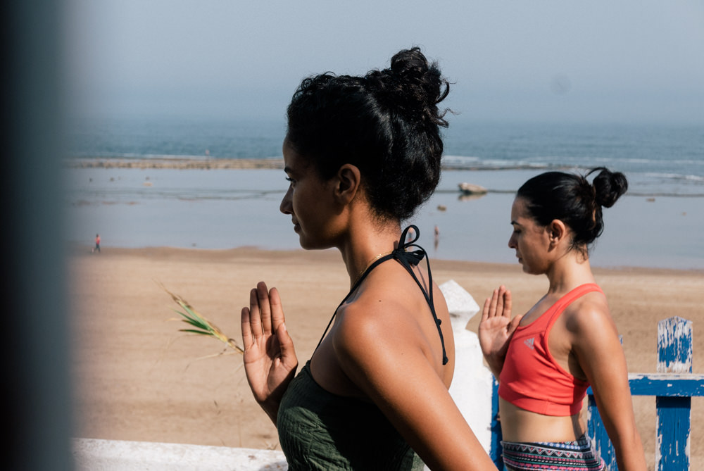 yoga hind skhirat beach morocco blogger justdalal 6 - Seashore and Yoga weekend in Morocco and my again ache story
