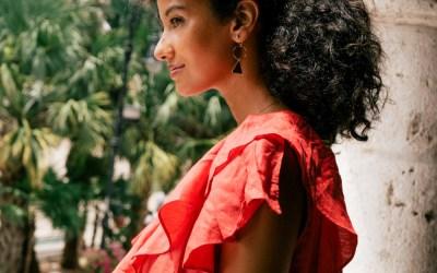 Red ruffles in Merida