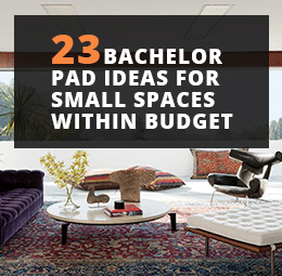 23 Bachelor Pad Ideas For Small Spaces Within Budget Just Diy Decor
