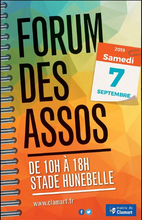 Affiche forum des assos Hunebelle