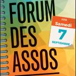Affiche du forum des association Clamart 2019