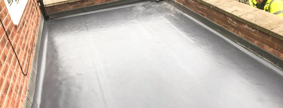 Domestic Flat Roof Installation in Liverpool