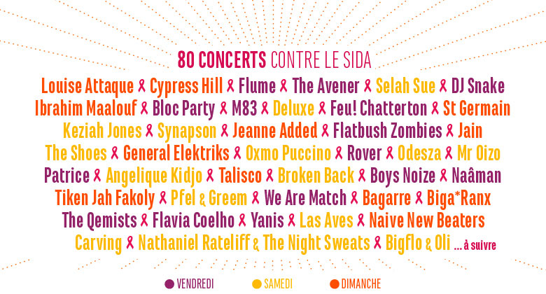 solidays 2016 programmation