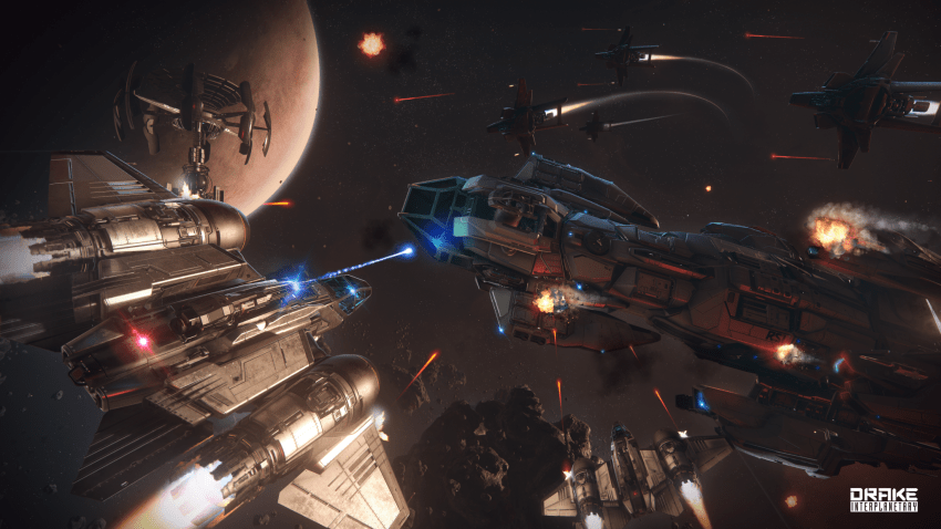 Star Citizen combat spatial
