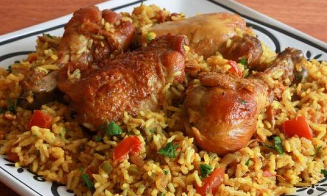 طريقة عمل كبسة الدجاج الكويتية Just Food