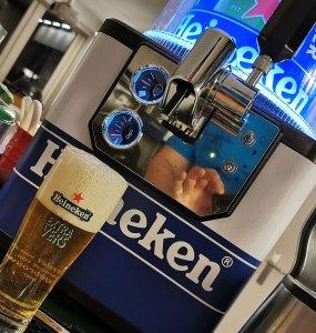 Heineken 0.0 met de Heineken Blade