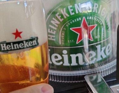 Heineken Pilsener uit de Heineken Blade