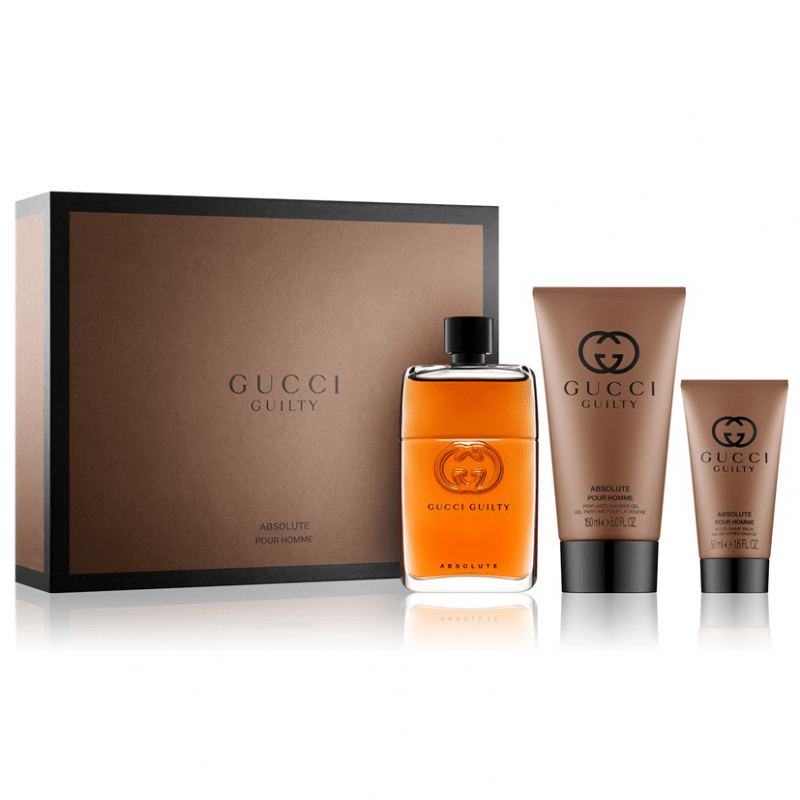 Gucci Guilty Absolute Pour Homme EDP 90ml Gift set for Men
