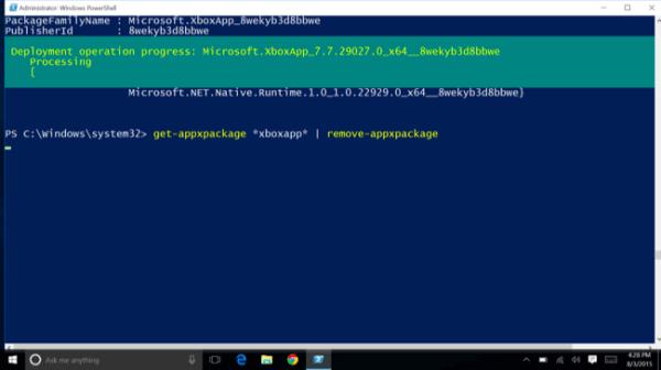 Désinstaller les applications préinstallées de Windows 10 ...