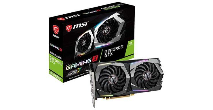 Les meilleures cartes graphiques MSI NVIDIA GeForce GTX 1660 Super Gaming X
