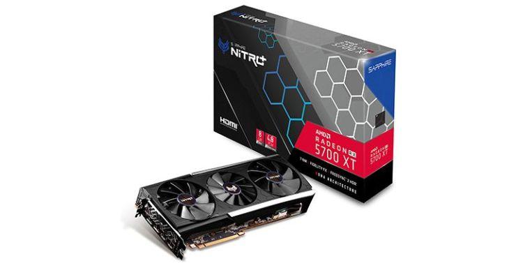Les meilleures cartes graphiques. Sapphire NITRO+ Radeon RX 5700 XT 8G