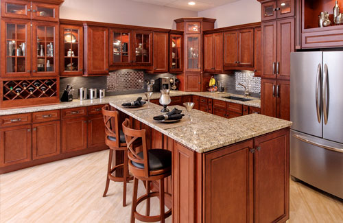 Cherry Wood Cabinets Adding Style and Durability to Home Decor