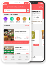 Happyfresh Clone: On Demand Grocery Delivery App