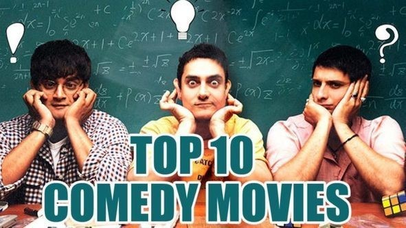 Best Top 10 Bollywood Comedy Movies That Will Make You Laugh A lot.