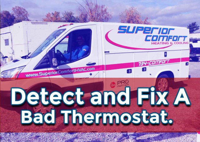Detect and Fix a Bad Thermostat