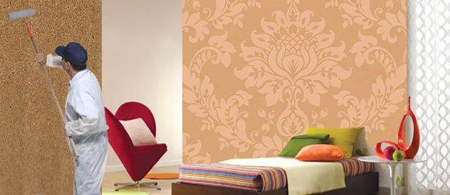 Wallpaper Fixing services