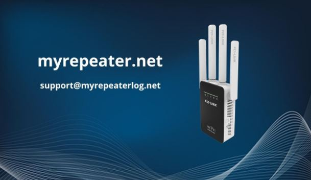 The complete process of the myrepeater.net setup wizard