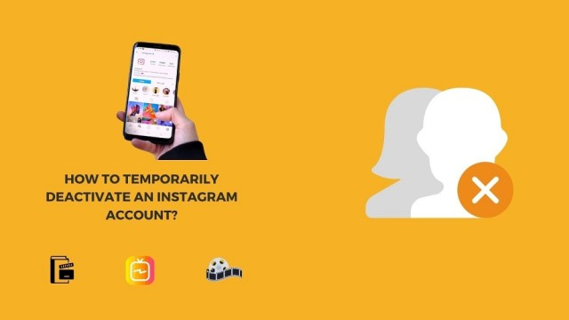 How to temporarily deactivate an Instagram account?