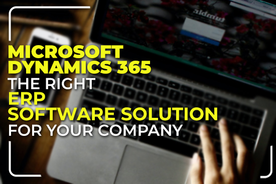 Microsoft Dynamics 365 The Right ERP Software Solution for Your Company