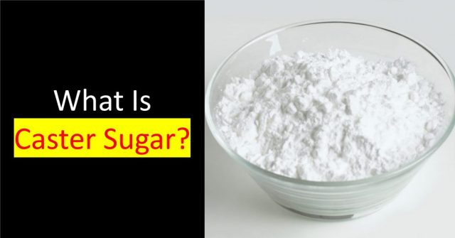 what is caster sugar