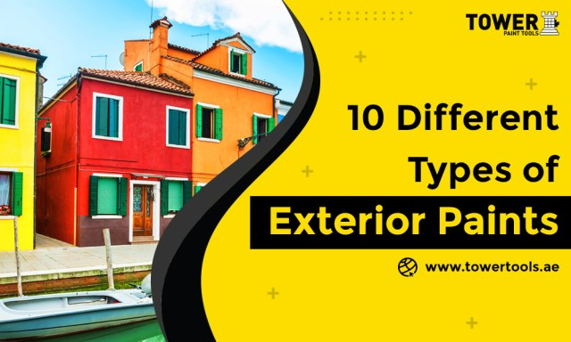 10 Different Types of Exterior Paints