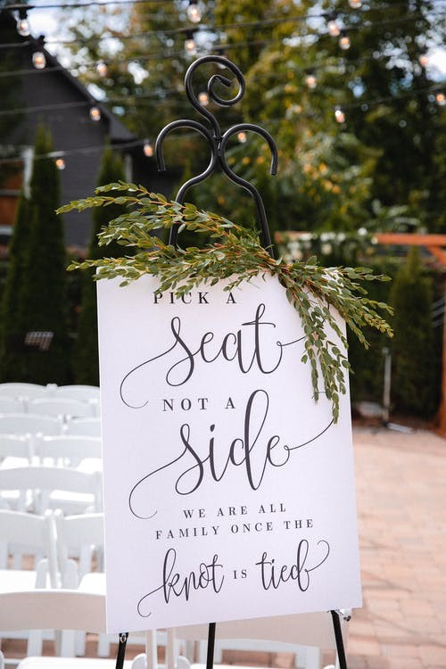 Signs You Need at A Wedding