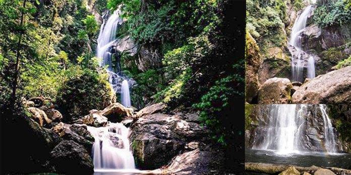 Lubuk Hitam Waterfall in Bukit Barisan | Indonesia Travel