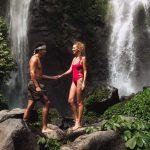 Sekumpul Waterfall Bali Couple Laughing