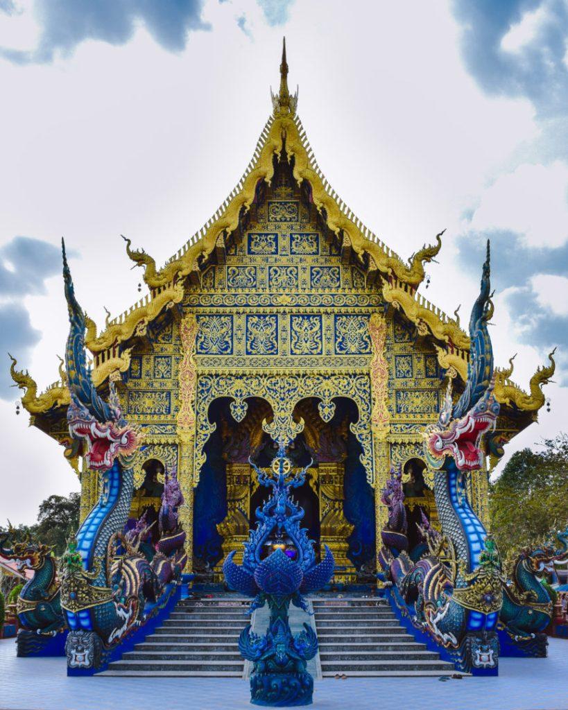 Chiang rai Blue Temple North Thailand