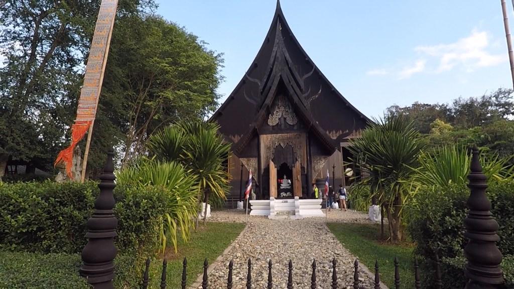 Black House Museum Baandam Artspace Chiang Rai Outside