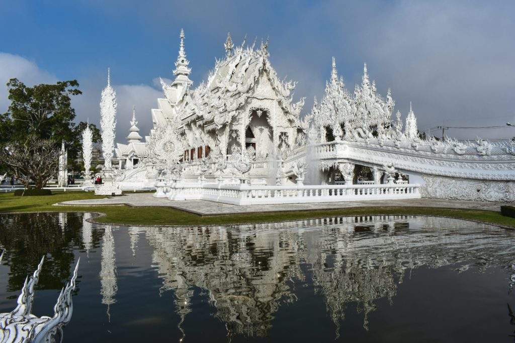 White Temple, also known as Wat Rong Khun