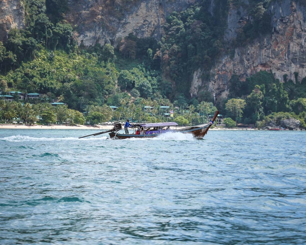 Fast boat in Thailand