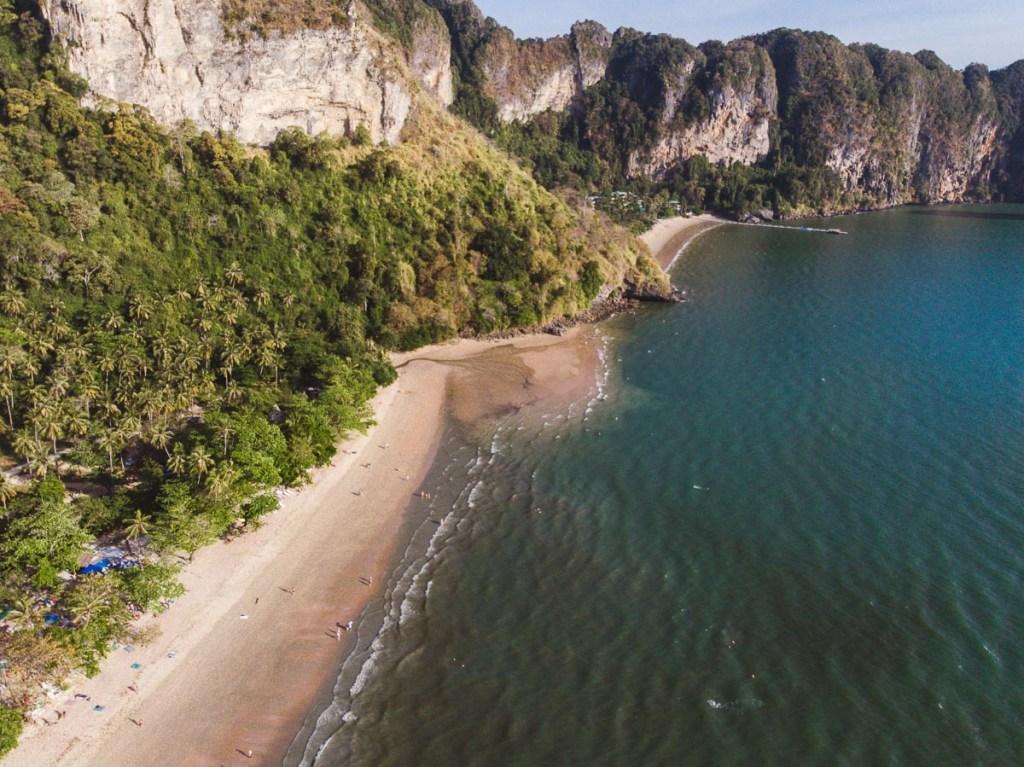 Ao nang sandy beach