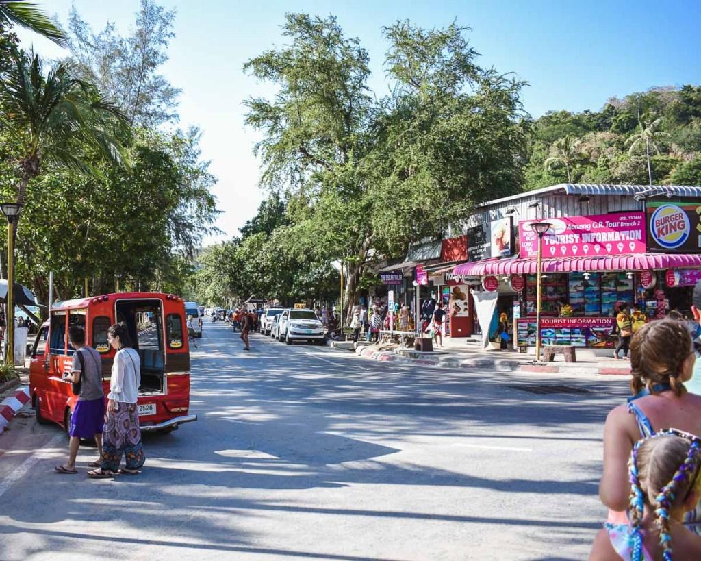 Ao Nang town