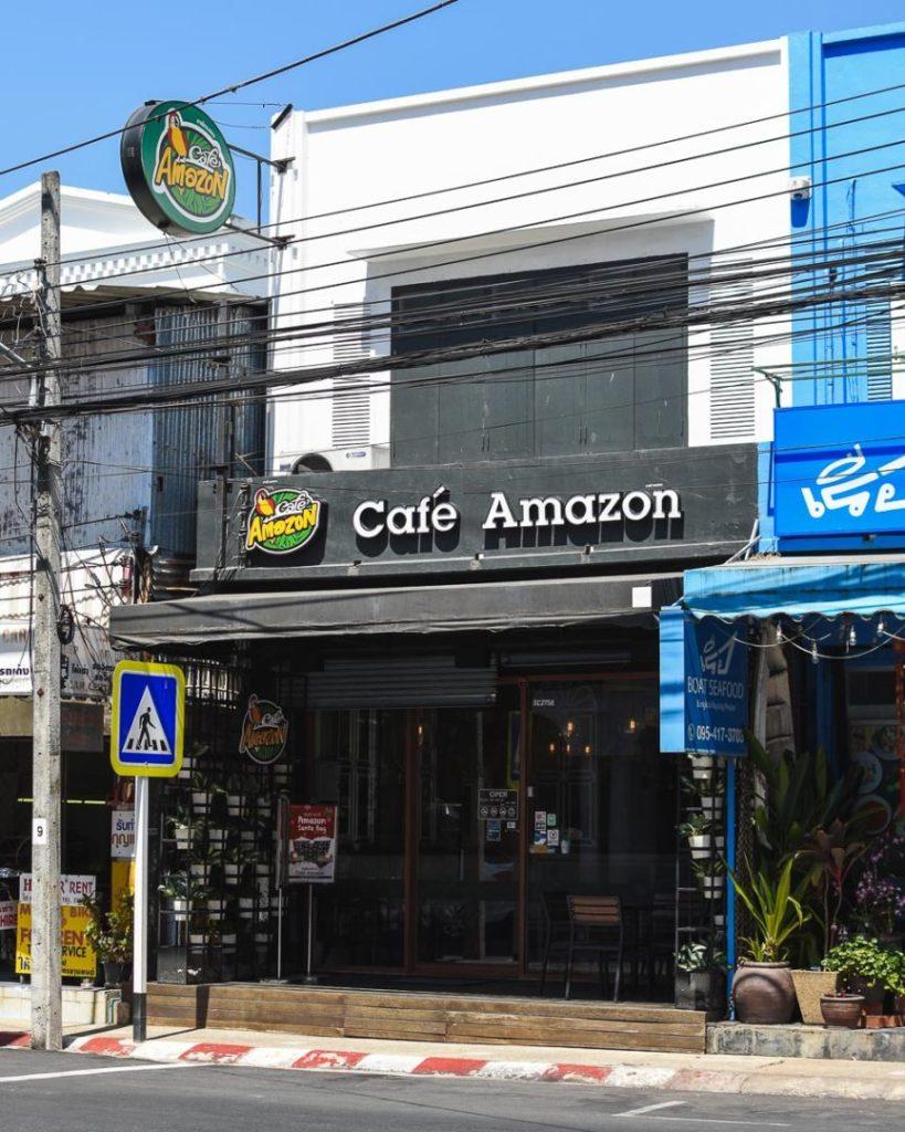 Case Amazon outdoor signage