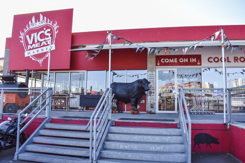 Vic's meat market in Sydney