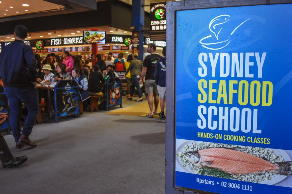 sydney seafood school hands on cooking class