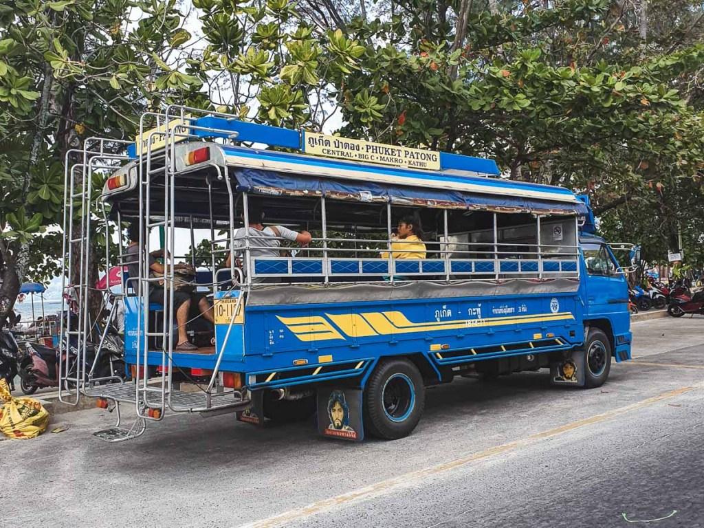 public bus services in phuket