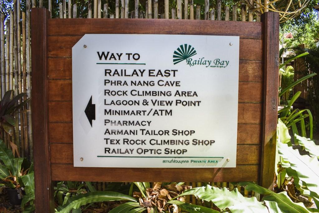 railay bay directions