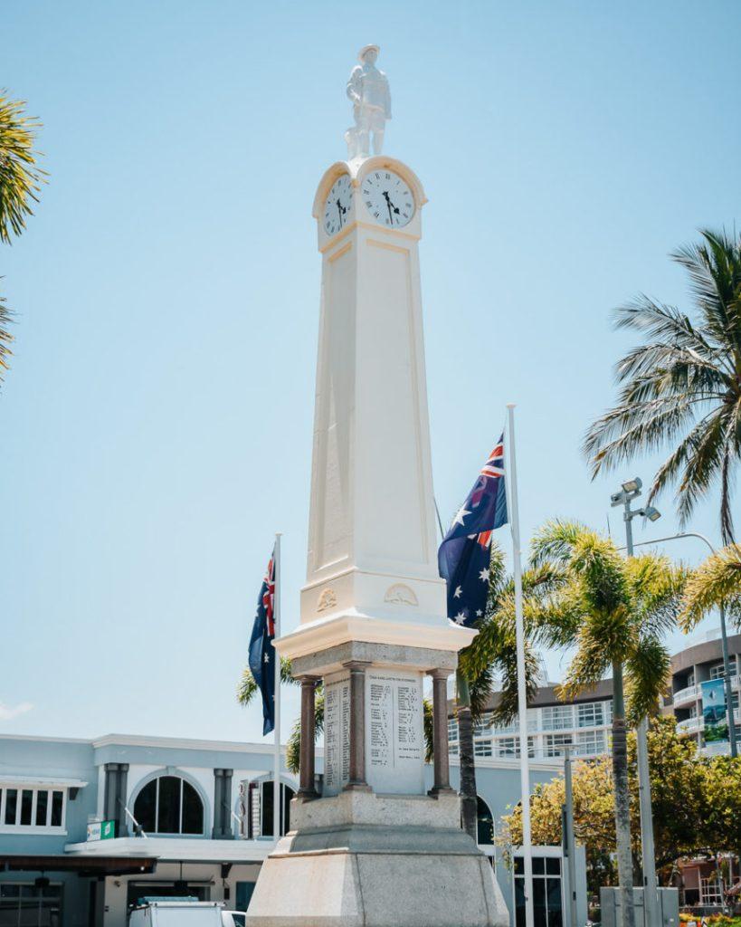 Cairns Cenotaph statue