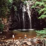 Ellinjaa Falls waterfall near Cairns
