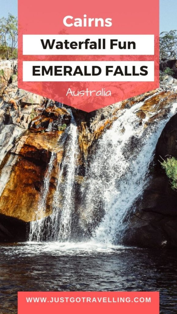 Emerald Creek Falls - Waterfall Fun pinterest image