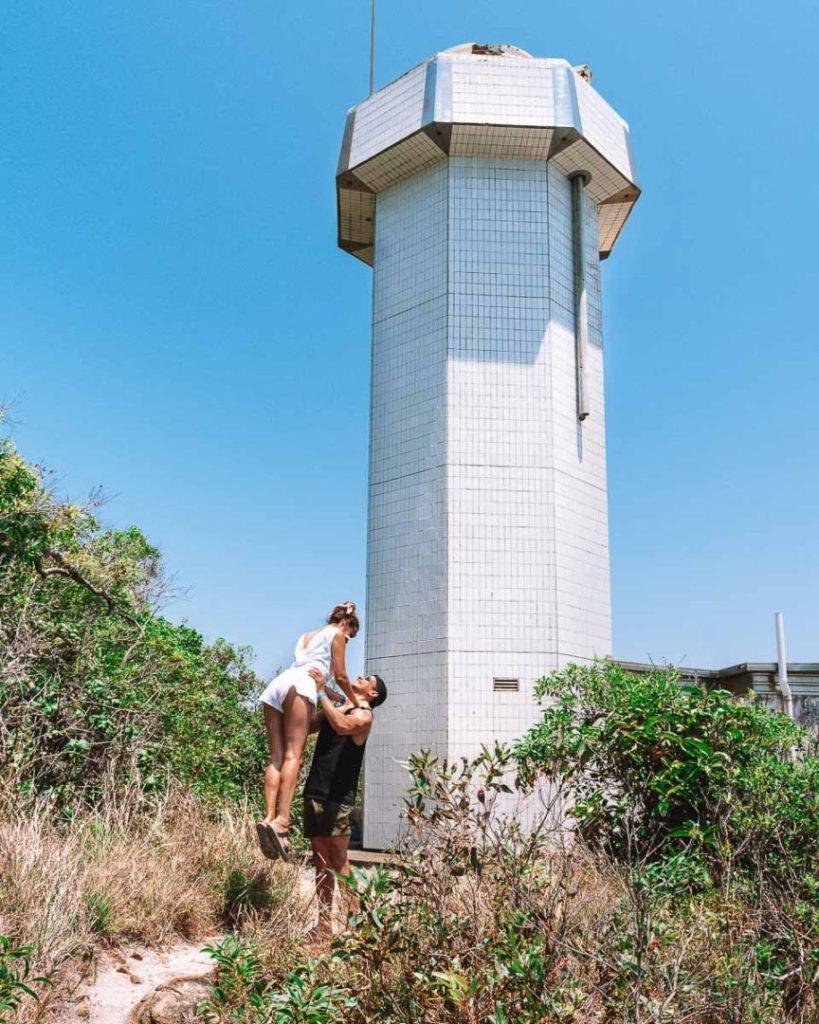 Fitzroy island lighthouse cute couple